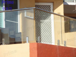 Frameless Glass Balcony Balustrades Balcony Rails Pr-B101 pictures & photos