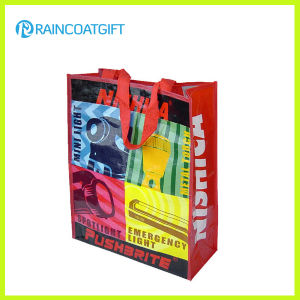 All Over Imprint Tote Laminated Non Woven Bag Rbc-083 pictures & photos