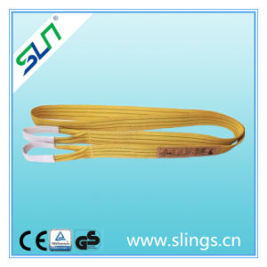 5t*10m 100%Polyester Webbing Sling Safety Factor Ce GS 5t 10m 7: 1 pictures & photos