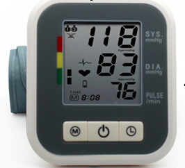 3.7 Inch Blood Pressure Meter with CE and ISO pictures & photos