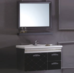 Chinese Modern Stainless Stainless Steel Bathroom Cabinet pictures & photos