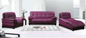 Top Grain Chinese Leather Sofa for Living Room Furniture (102) pictures & photos