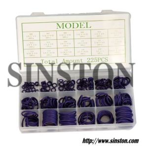 225 PCS Purple O Ring Repair Kit (SINSTON)