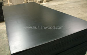 A Grade 9mm Black Film Faced Plywood for Construction with Ce Certificate pictures & photos