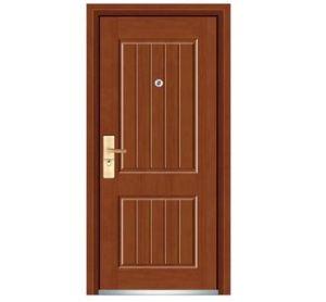 Steel Wooden Door with Nice Design pictures & photos