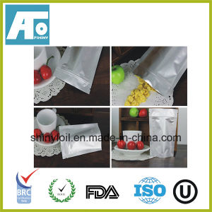 Smell Proof Ziplock Aluminum Foil Bag