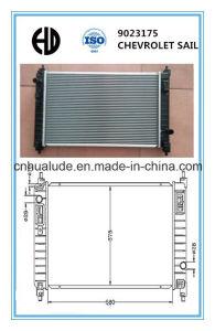 Aluminum Plastic Brazed Car Radiator for Chevrolet Sail 9023175 pictures & photos