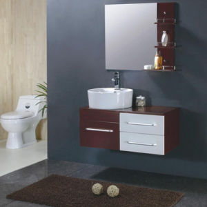 MDF Bathroom Cabinet W-80 pictures & photos