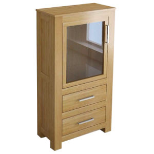 Solid Oak Furniture-Cupboard with 100% Oak
