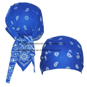 Custom Made Cotton Bandana Kerchief Headscarf Adjustable Bandana Hair Wrap pictures & photos