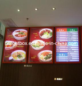 Aluminium Frame Menu LED Light Box pictures & photos