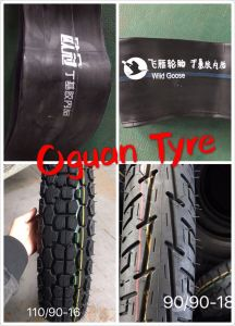 Motorcycle Tyre and Inner Tube for Bajaj Motorcycle 300-18 pictures & photos
