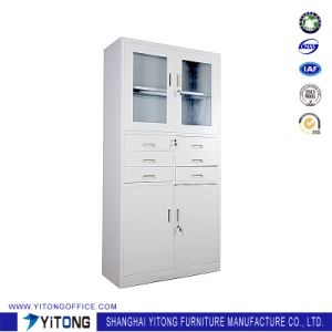 4-Door 6-Drawer Metal Storage Cabinet / Office Use Steel File Cabinet pictures & photos
