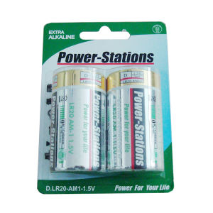 1.5V Alkaline Dry Cell Battery (LR20 / D / AM-1)