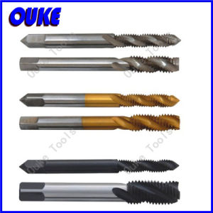 JIS Standard Bsw HSS Spiral Flute Screw Tap pictures & photos