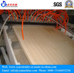Hollow Wood Plastic Door Panel Extruder Machinery pictures & photos