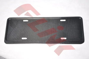 Carbon Fiber Number Plate China pictures & photos