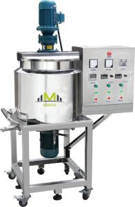 100L Liquid Soap Heating Mixing Machinery pictures & photos