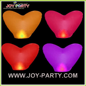 Heart Eco Wish Sky Lantern for Wedding pictures & photos