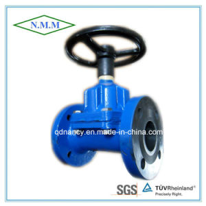 Cast Iron Diaghragm Valve with Flange Ends pictures & photos