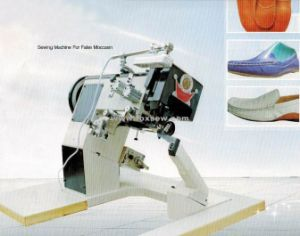 Moccasins Sewing Machine for Shoes pictures & photos