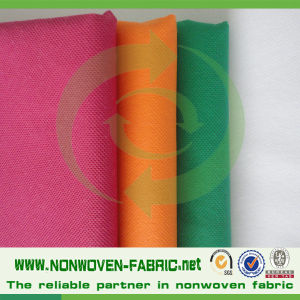 Colorful Good Prices Polypropylene Spunbond Nonwoven Fabric Roll Ppsb pictures & photos