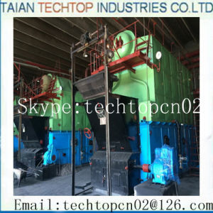 6ton Chain Grate Trevalling Grate Single Drum Coal Gired Packaged Boiler (DZL6-1.25-AII) pictures & photos
