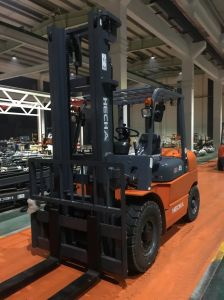 Heli 4.5 Ton Diesel Forklift Isuzu 6bg1 on Sale pictures & photos