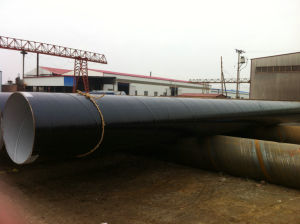 3PE Coated Spiral Welded Steel Pipe