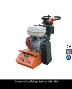 Hand Push Type Gasoline Floor Planner Scarifying Machine Gye-250 pictures & photos