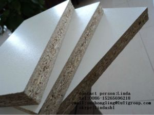 White/Wood Color Melamine Particle Board pictures & photos