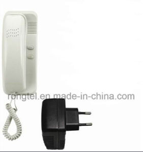 Plastic Audio Indoor Monitor for Villa Intercom System pictures & photos