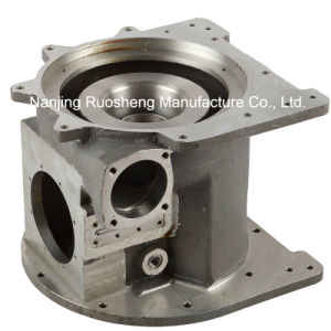 304 Stainless Steel Casted and Machining Valve Body