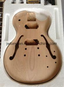 Semi Hollow Body Double F Hole Les Lp DIY Guitar pictures & photos