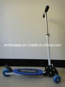 100 Mm Wheel Kick Scooter with PU Wheel (ET-KS2001-BLUE) pictures & photos