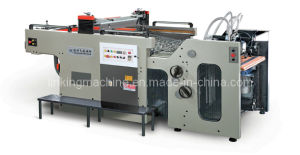 Auto Swing Cylinder Silk Screen Printing Machine with Feeder pictures & photos