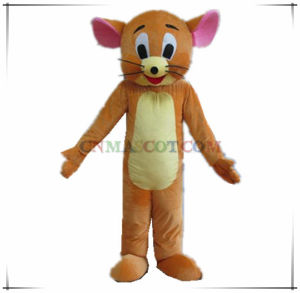 Jerry Mouse Fur Mascot Cartoon Costume