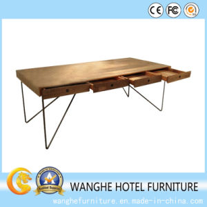 European Wooden Board Computer Table for Hotel Furniture pictures & photos
