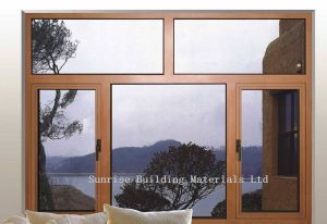 Aluminum Casement Windows (Profiles and Accessories) pictures & photos