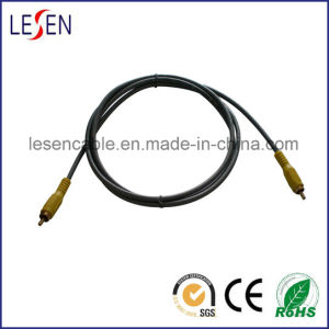 Component Cable with 1RCA Plug to 1RCA Plug pictures & photos