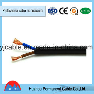 Copper Core PVC Insulation and Sheath Flat Flexible Wire Cable Cord Rvv pictures & photos