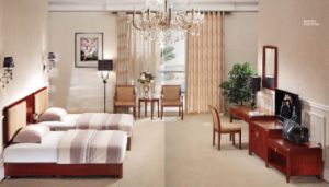 Hotel Star Modern Double Room Suite Bedroom Furniture (GLB-207) pictures & photos