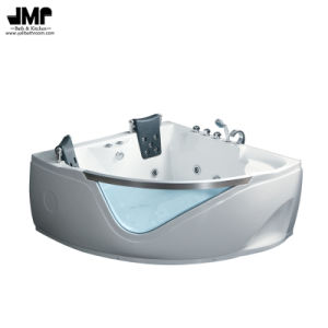 2719 Two People Acrylic Jacuzzi Whirlpool Bath Massage Tub Bathtub pictures & photos