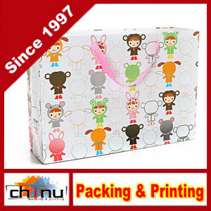 Art Paper / White Paper 4 Color Printed Bag (2265) pictures & photos
