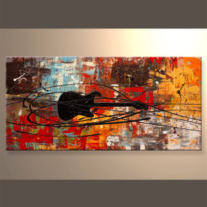 Abstract Oil Paintings for Living Room