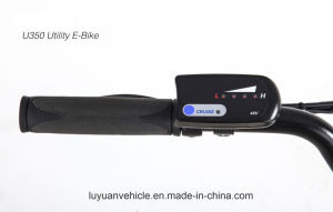 Utility Cargo Electric Bicycle Large Battery for Deivery 20′′wheel 8 Fun Motor (U350) pictures & photos