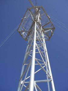 Steel Galvanized Guy Wire Tower / Guy Antenna Tower pictures & photos
