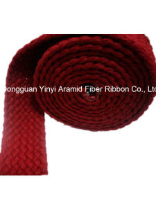38mm Red Color Sp Yarn Weaving Webbing pictures & photos