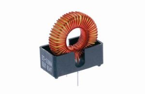 Ferrite Ring Choke Coil Inductor with Plastic Base/High Frequency Power Choke pictures & photos