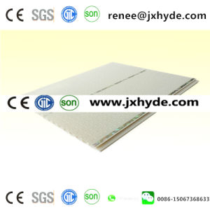 White Middle Groove 200mm Width PVC Ceiling Panel (RN-190) pictures & photos